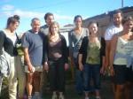 les bénévoles qui ont trravailler pendant les vacances à la ferme.JPG